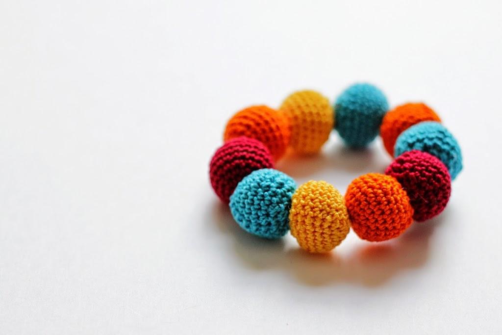 Oversized Crochet Bead Bracelet | Story