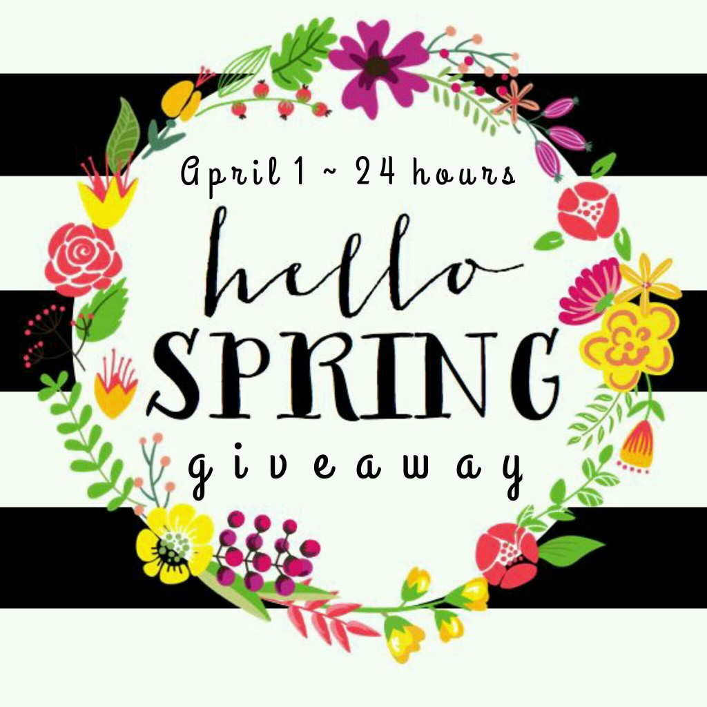 Hello Spring Instagram Giveaway