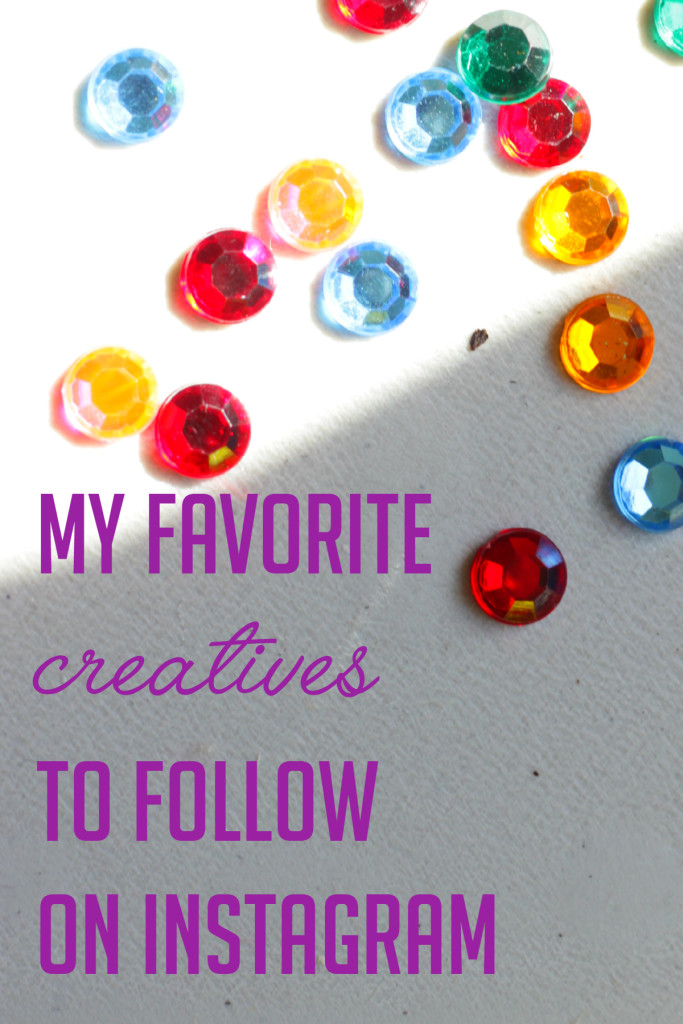 My favorite creatives to follow on Instagram