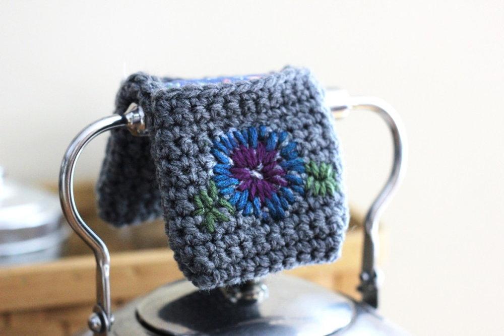 Teapot Handle Cozy or Potholder
