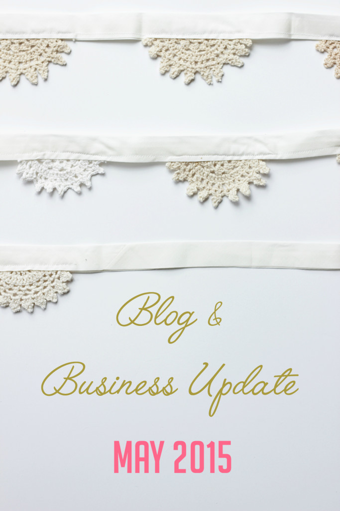 Blog & Business Update May 2015