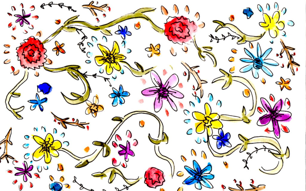 Little Flowers Free Downloadable Wallpaper