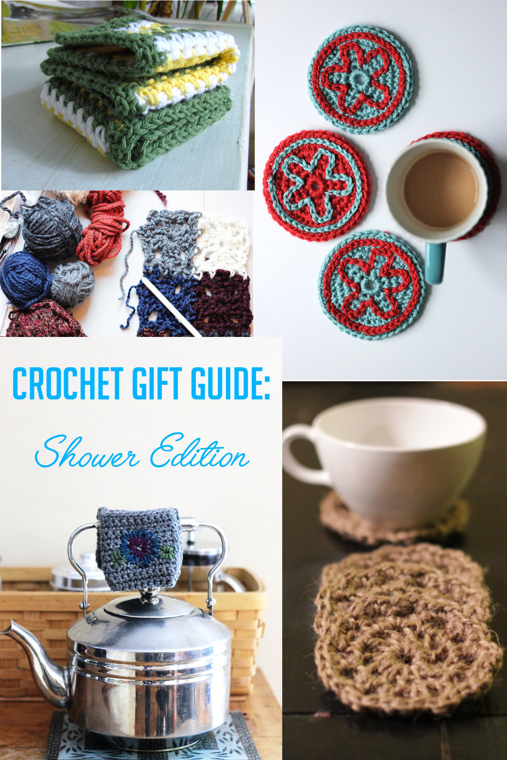 Crochet Gift Guide Shower Edition