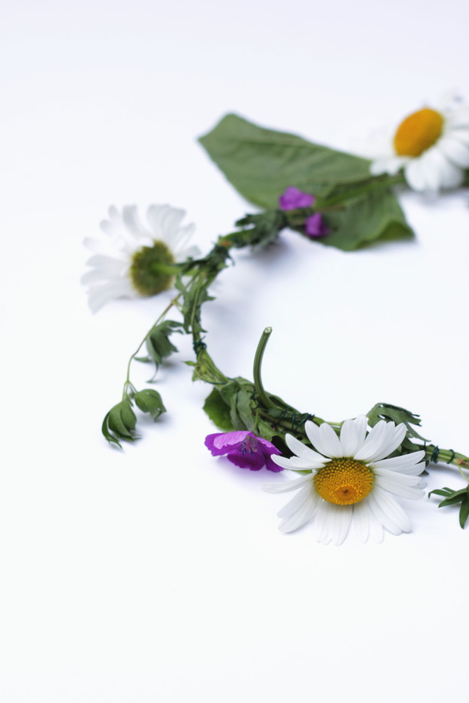 Fresh Flower Crown DIY