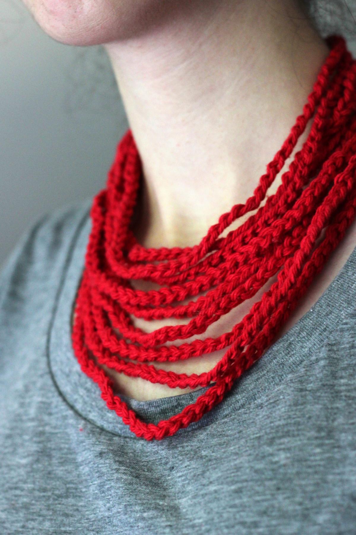 Mediterranean Collar Crochet Pattern