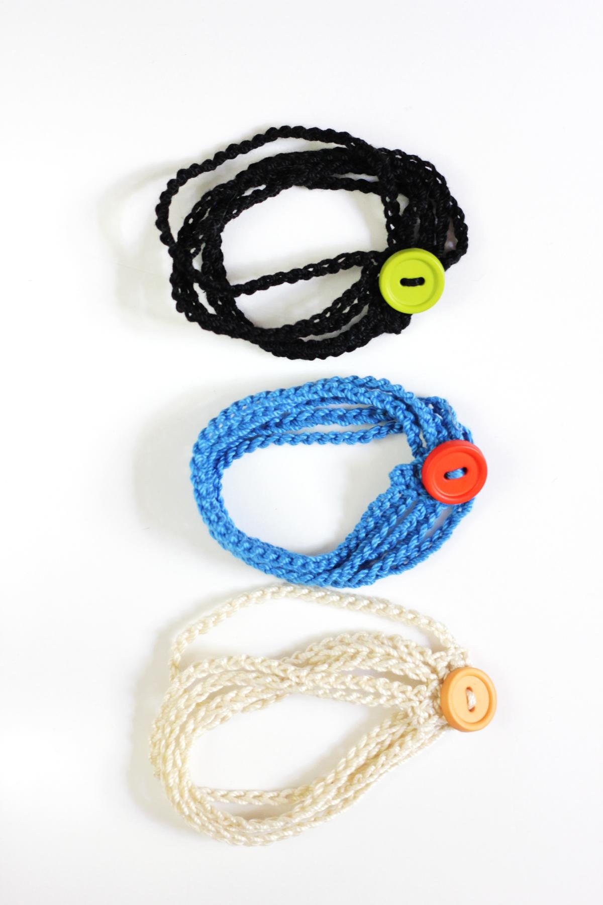 Multistrand Crochet Cuff