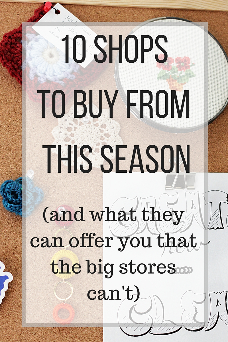 10 SHOPS TO BUY FROM THIS SEASON