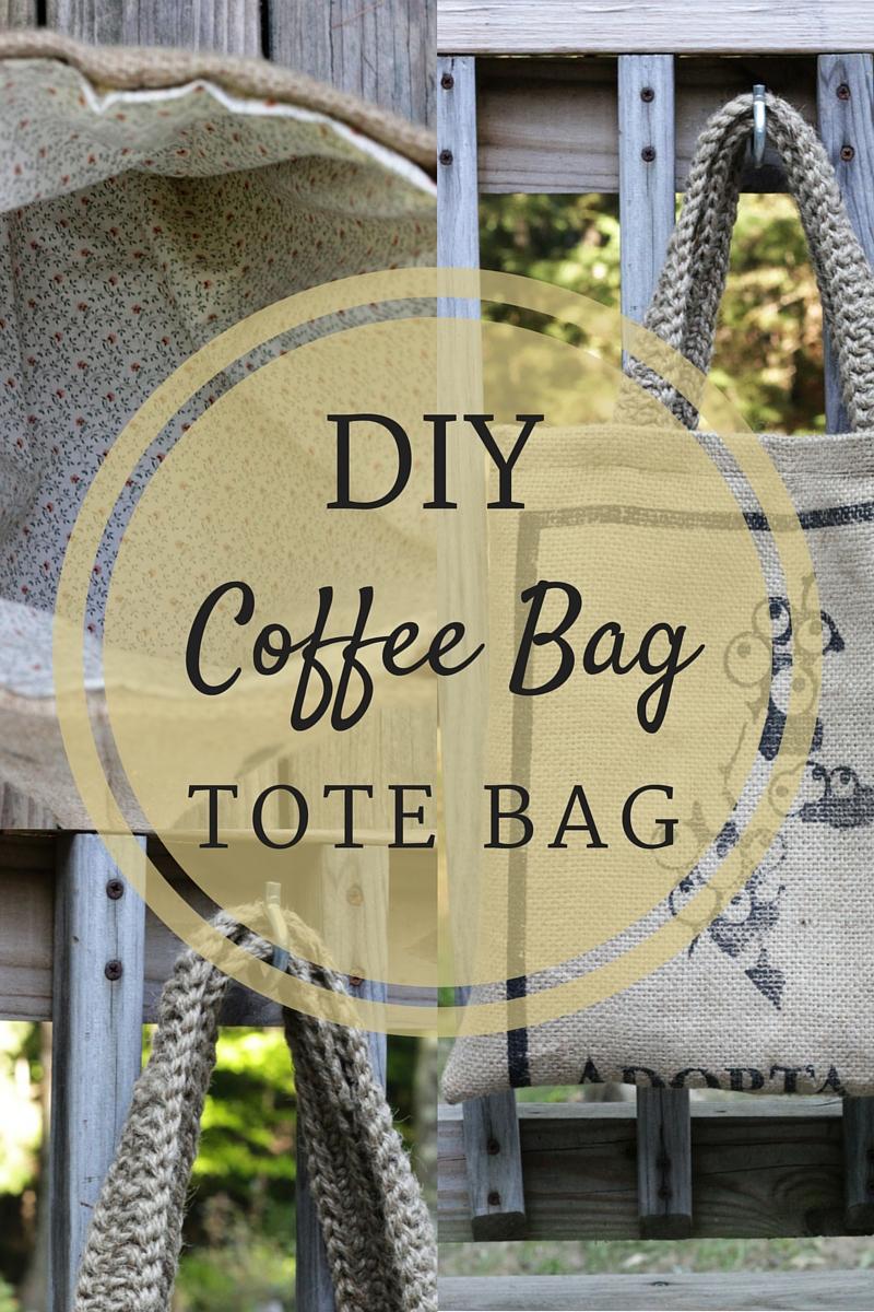 DIY Coffee Bag Tote