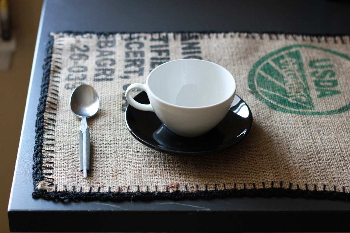 Coffee Bag Placemats Tutorial