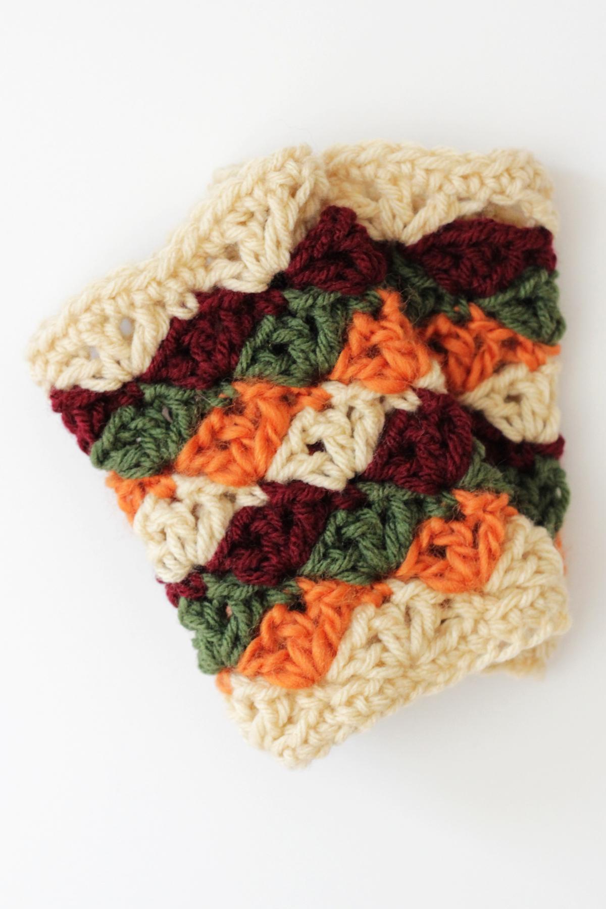 Harvest Mitts Crochet Pattern