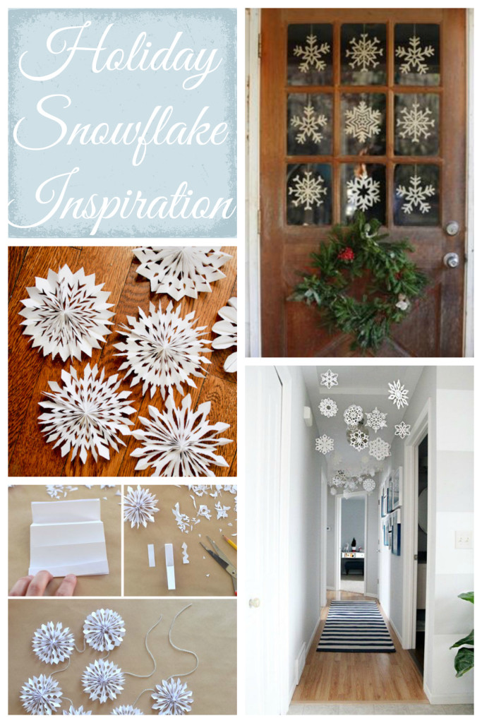 Holiday Snowflake Inspiration