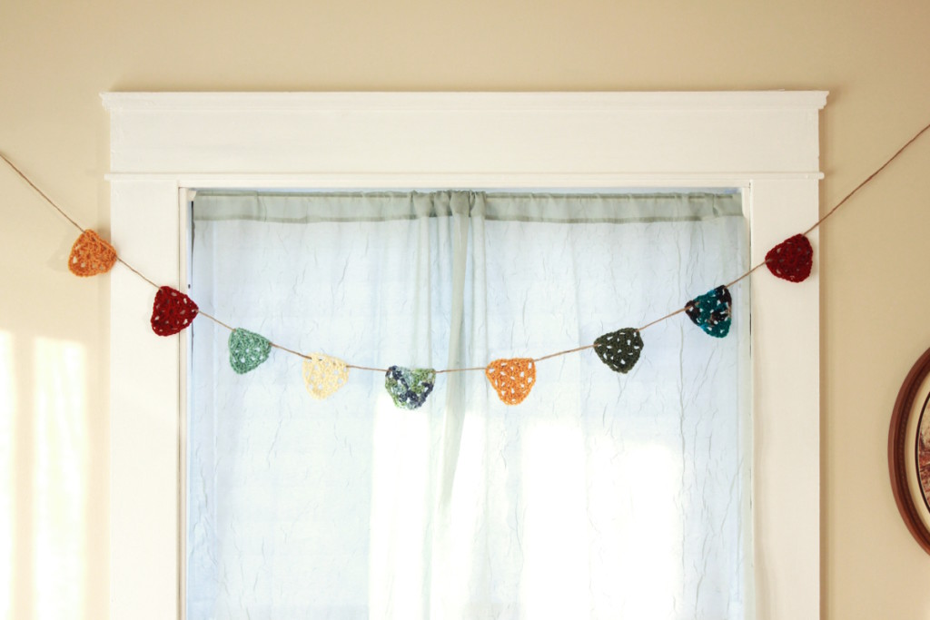 Colorful Crochet Bunting