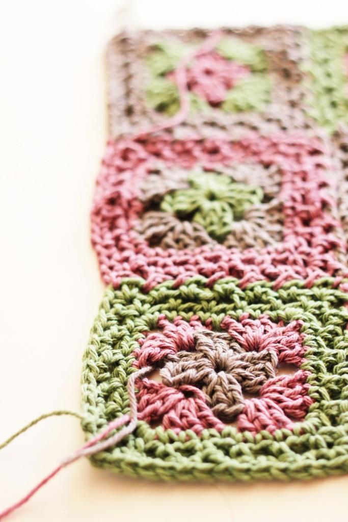Lavender Crochet Table Runner Pattern