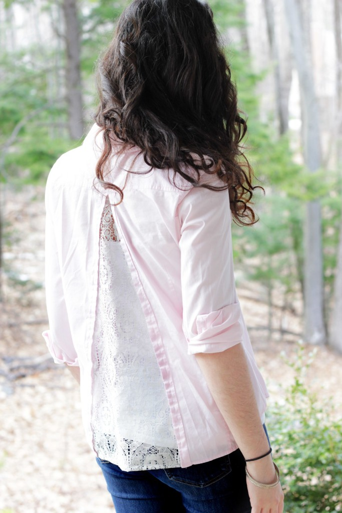 DIY Anthropologie Inspired Shirt