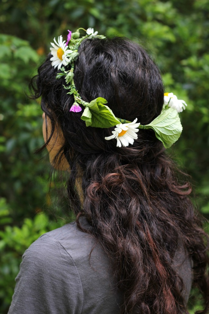 Fresh Flower Crown