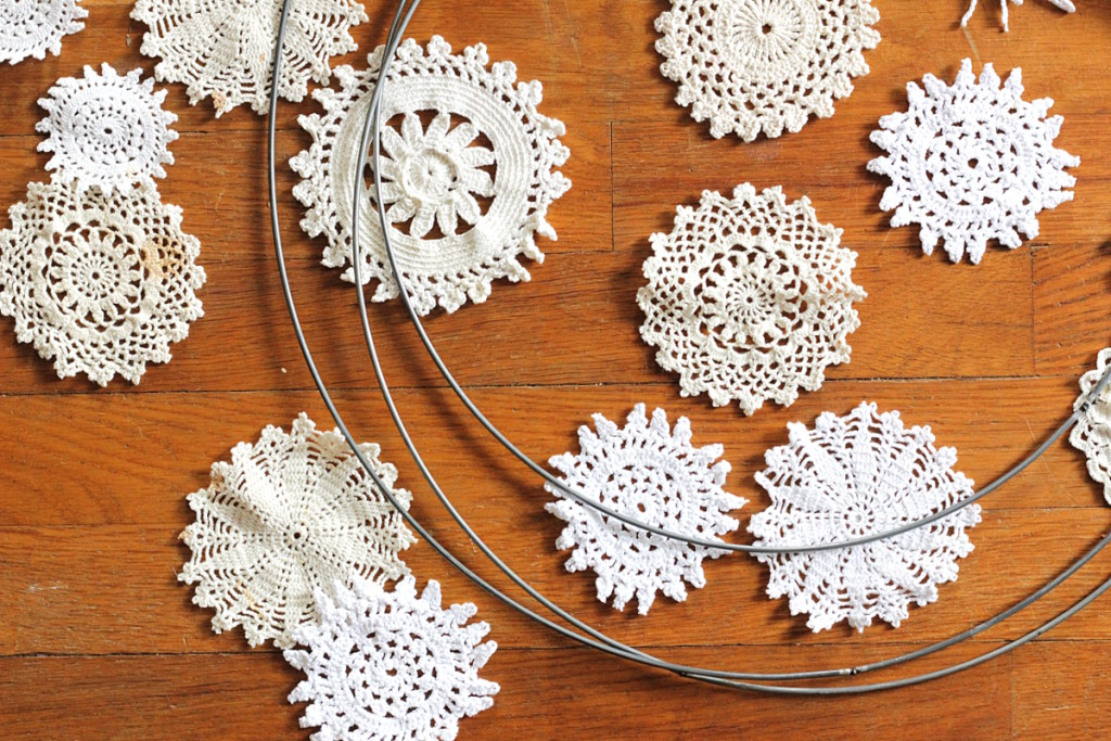 spring cleaning - doily ideas