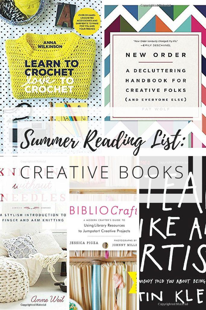 summer reading list creative books