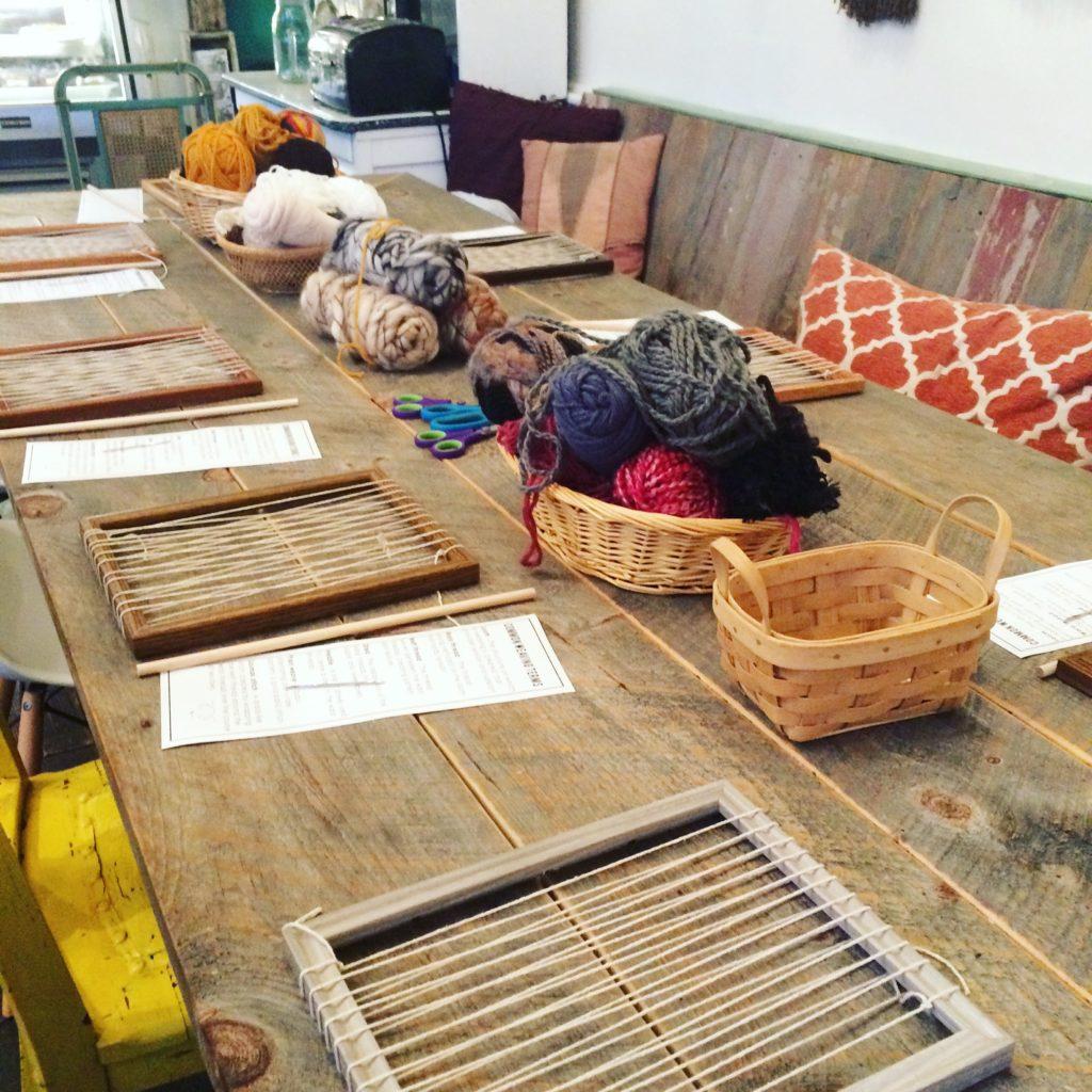 weaving workshop