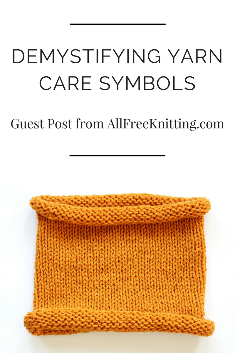 demystifying yarn care symbols