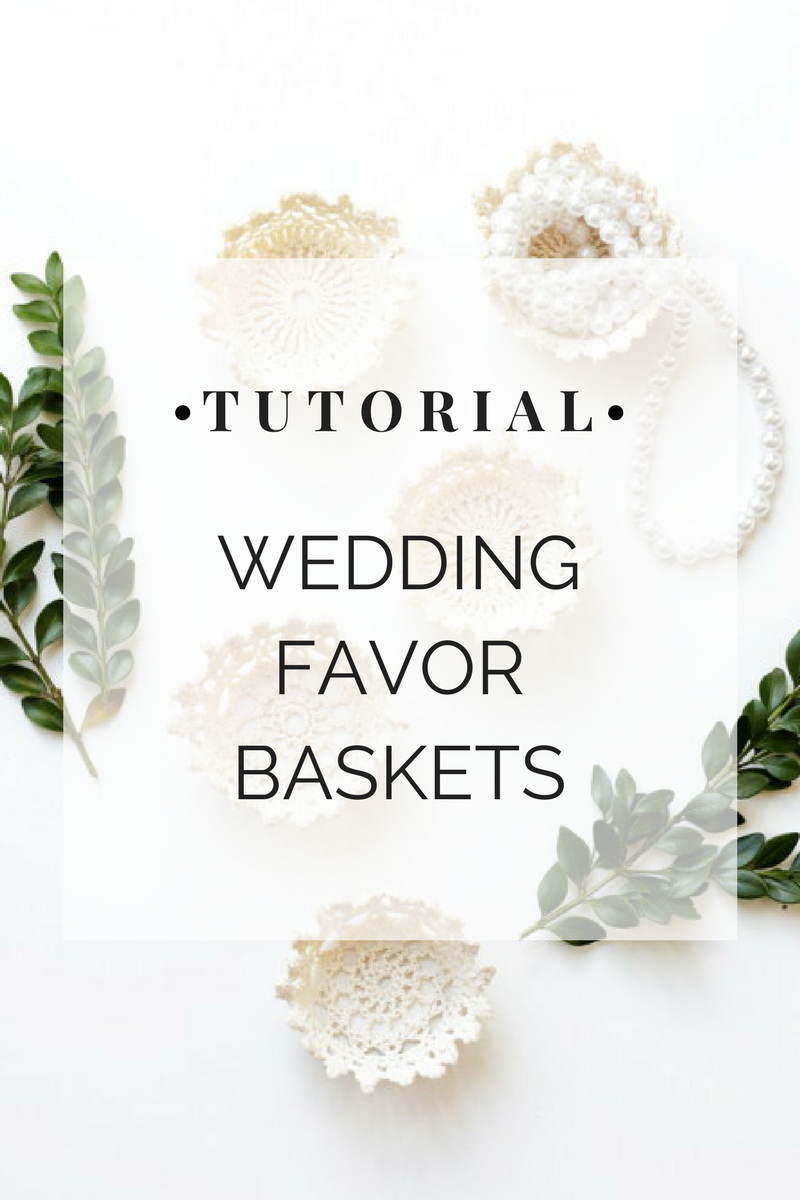 DIY Wedding Favor Baskets