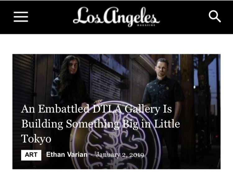 Click image to read our profile in LA Magazine.