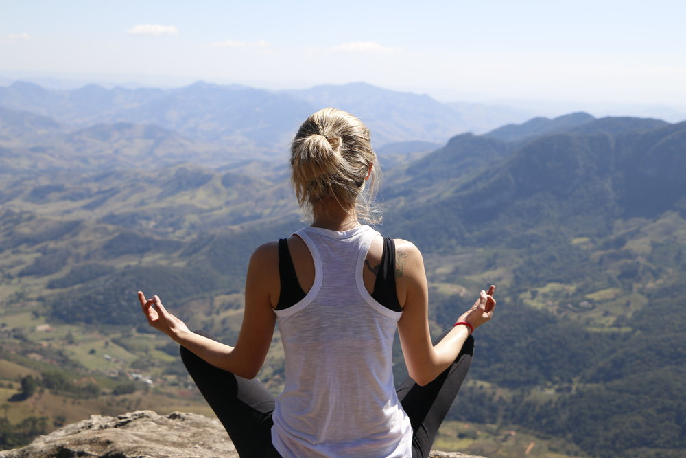 Mountain Yoga Retreat Meditation
