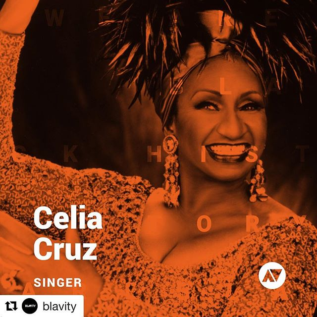 Can't wait to release the Celia Cruz mini box!  #Repost @blavity with @get_repost ・・・ Today, we honor the legendary Afro-Cuban artist Celia Cruz 🇨🇺. If they made history, so can you. Click the link in our bio to read more. #WeAreBlackHistory #blavity