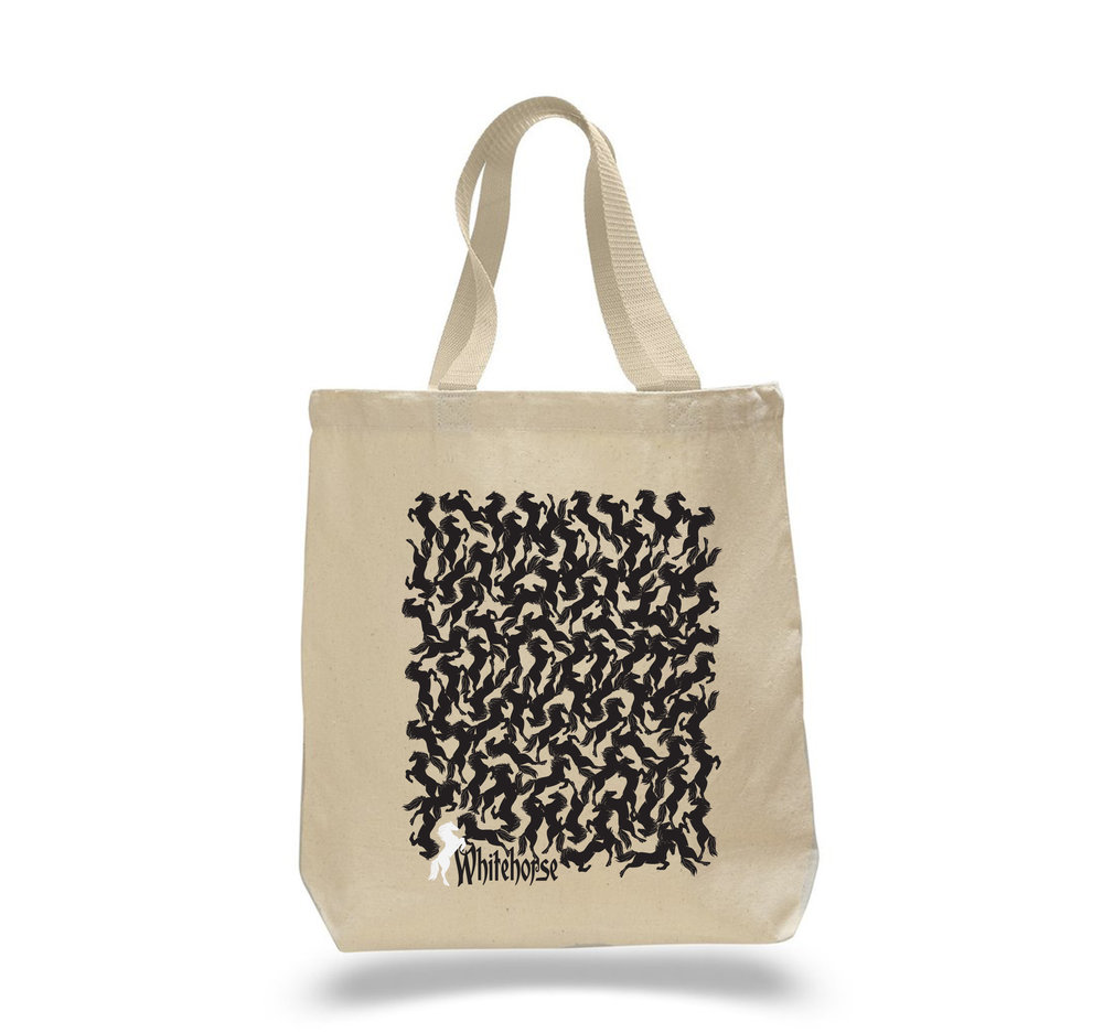 Canvas Tote Bag designed by Odelay Designs.