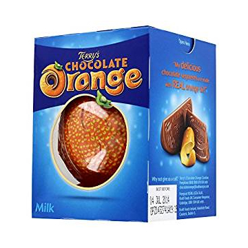 #4 – TERRY'S CHOCOLATE ORANGE