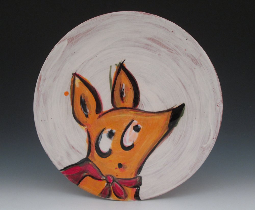 Scout dog plate