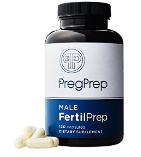 Preg Prep male infertility supplement
