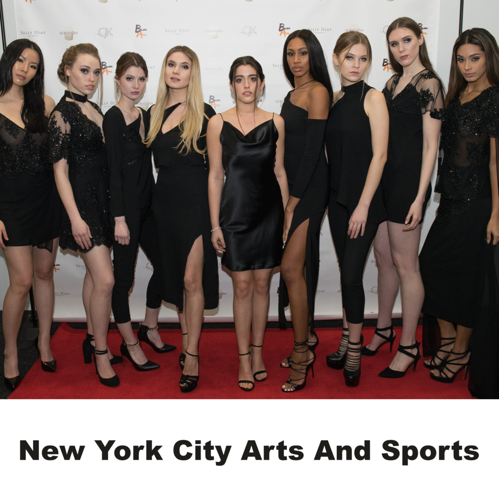 """Selly Djap New York Fashion Week 2018""  —  New York City Arts and Sports"