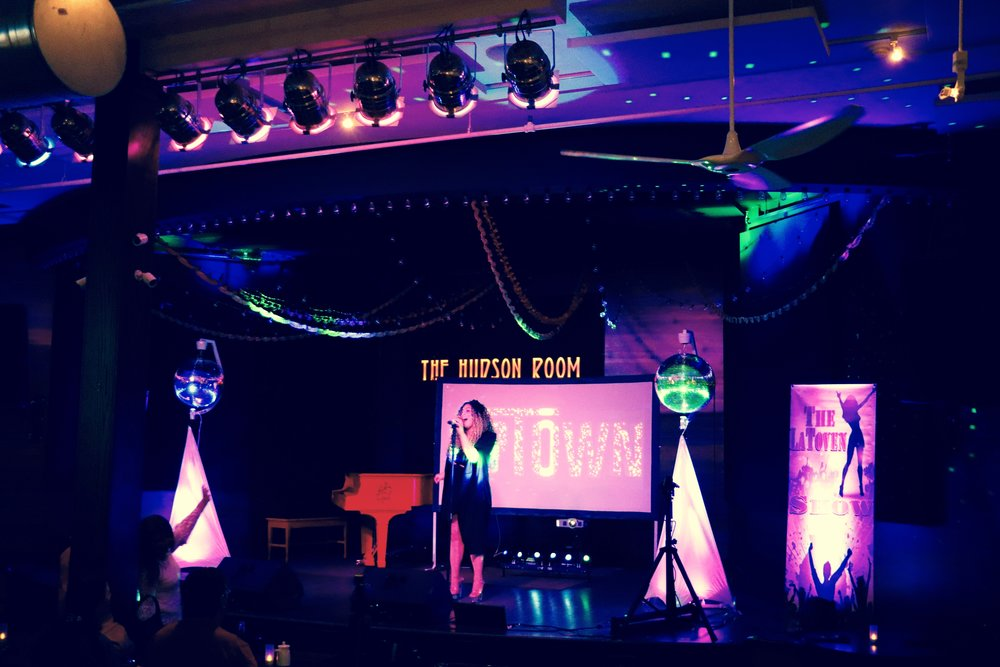 Our projecting screen, concert style lighting, and rotating disco balls make every event look incredible!