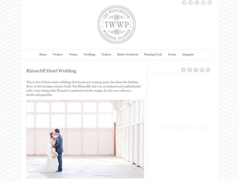 Westchester Wedding Planner - Cassi Claire