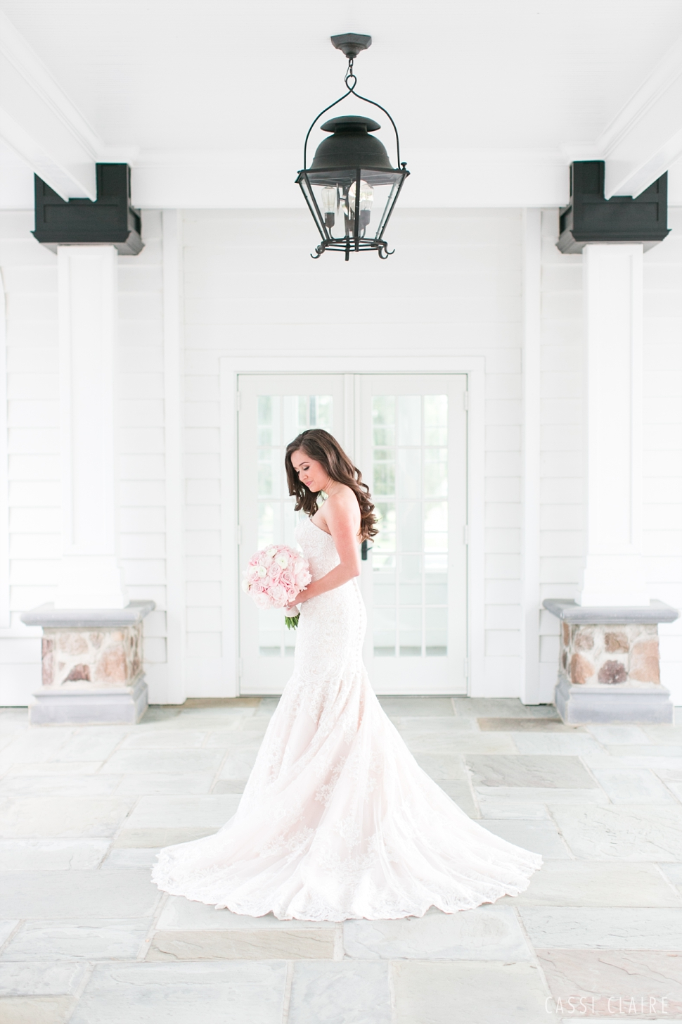 bridal portrait at the Ryland Inn