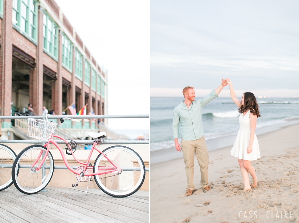 Asbury Park engagement photo