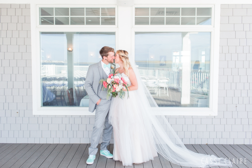 avalon yacht club wedding photo