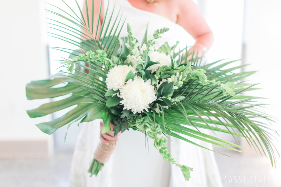 monstera bouquet