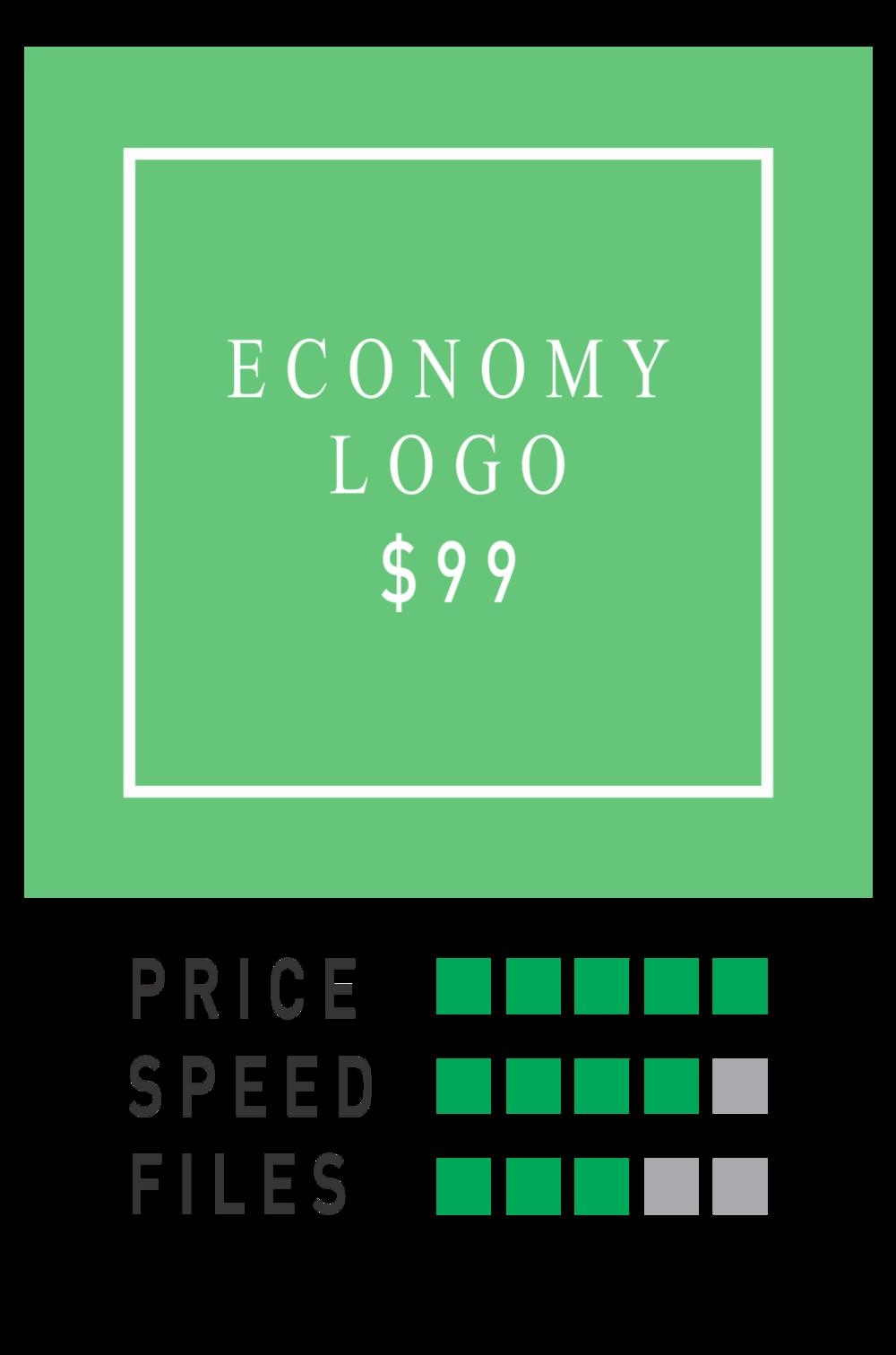 logo horse economy logo package