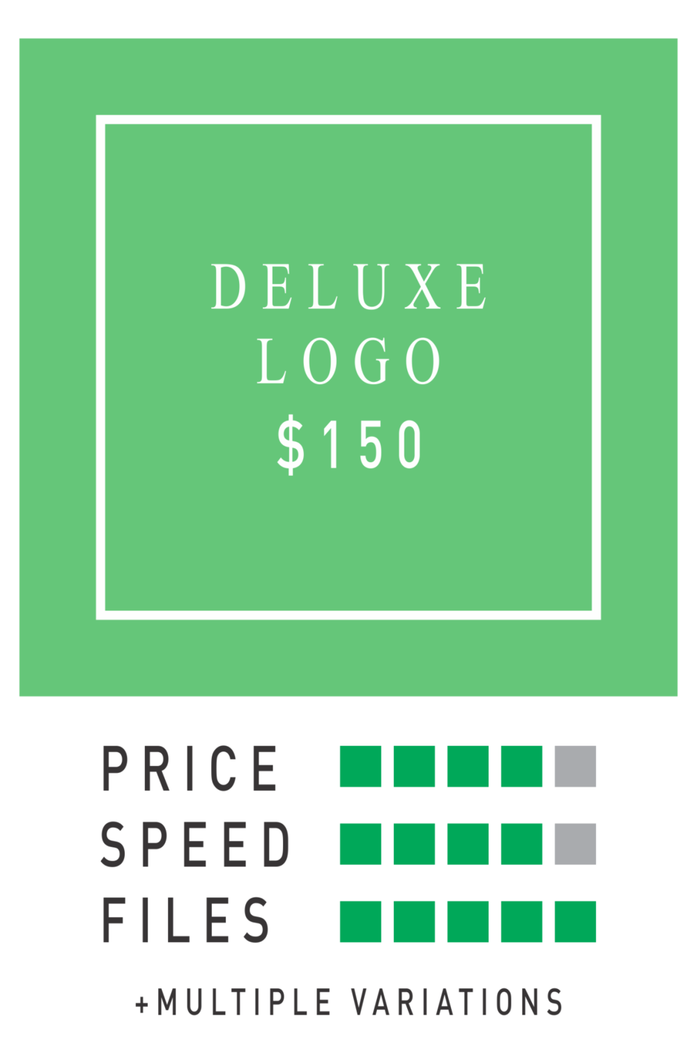 logo horse deluxe logo package