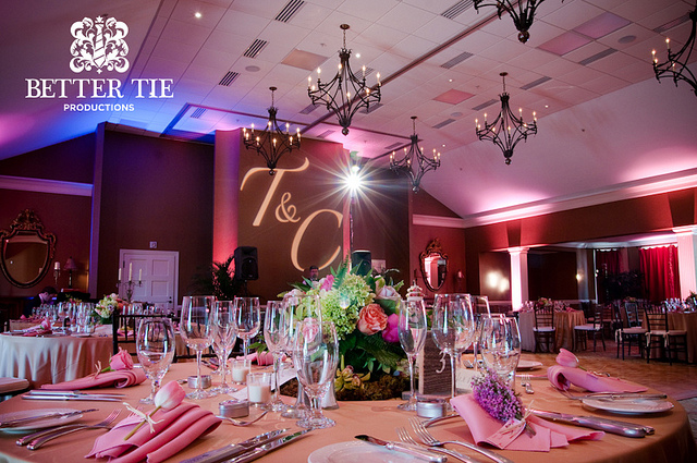 Cliffs Valley Lighting - with monogram