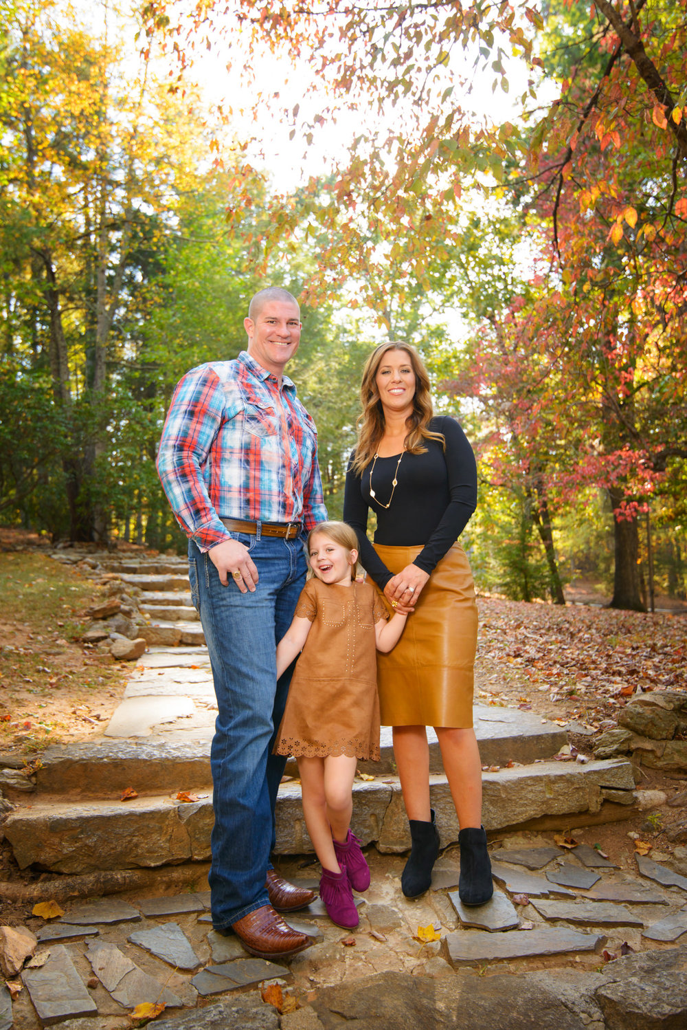 Paris Mountain State Park Family Portraits