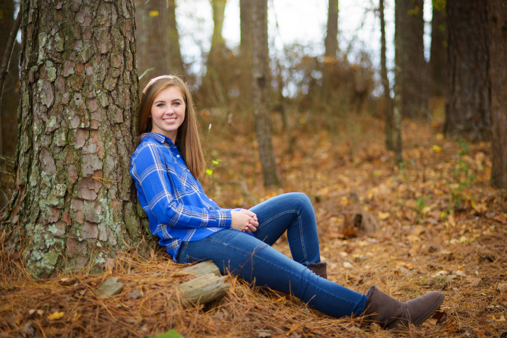 Greer SC Outdoor Senior Portraits