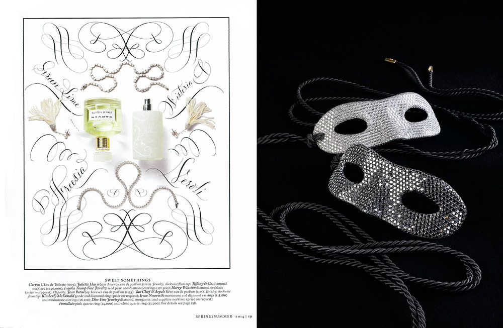 Town & Country Perfume Diamonds & Louis Vuitton Masks.jpg