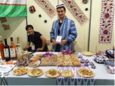 Uzbekistan is the center of domestication for almonds, and many people there still enjoy  ancient almond varieties .  https://www.fondazioneslowfood.com/en/slow-food-presidia/bostanlyk-ancient-varieties-of-almonds/