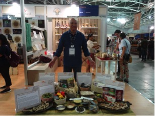 The Phillipines had a great show of Ark of Taste products. One flavor that will stick with me is that of the  pili nut .  https://www.fondazioneslowfood.com/en/ark-of-taste-slow-food/pili/