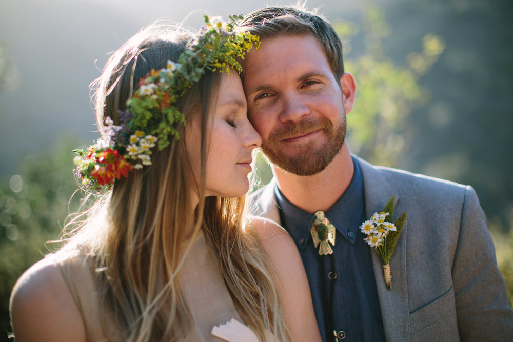 Paige and Keith's Indie Malibu Wedding
