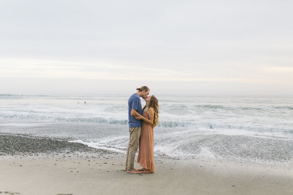 Kelsey and Chris' San Clemente Beach Engagement