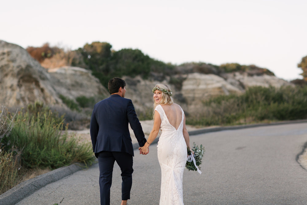 Jamie and Shaun's San Clemente Cottage Wedding