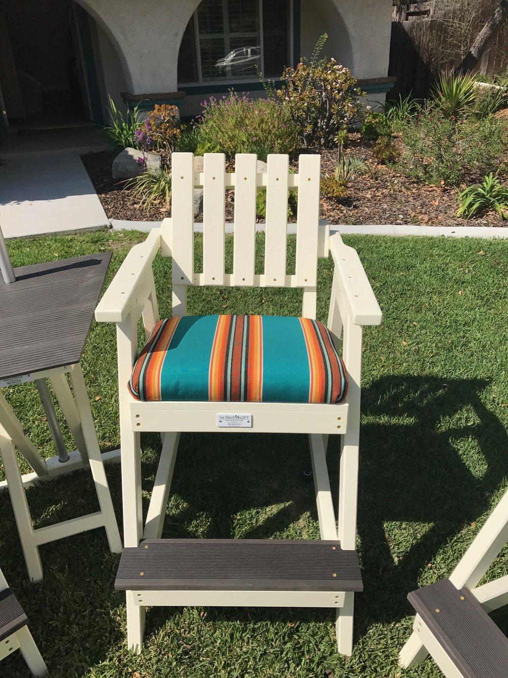 aloft single chair the perch aloft custom outdoor furniture in